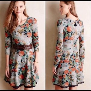 Anthropologie Saturday Sunday Floral Dress S